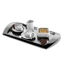 Silver Dining serving plate tray table appointments coffe tea set